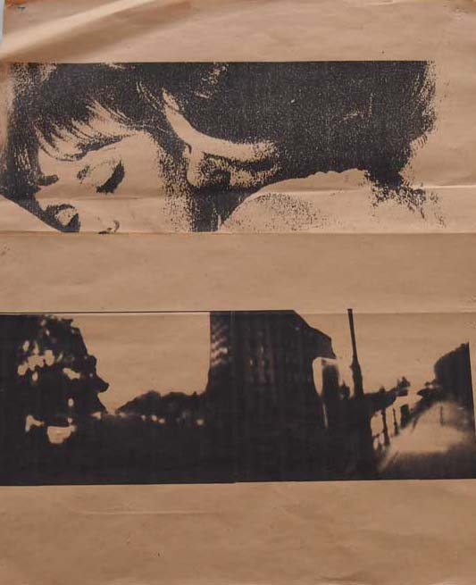 collage avec images d'un film de Truffaut et d'une vue de Berlin