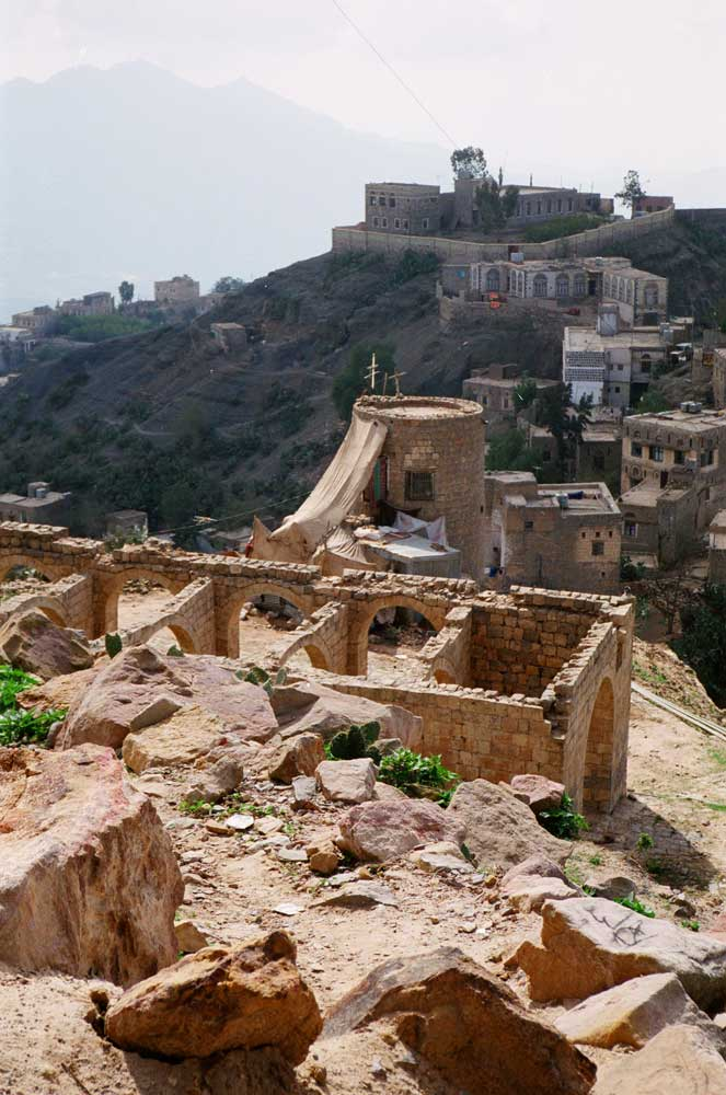 paysage du nord du Yémen