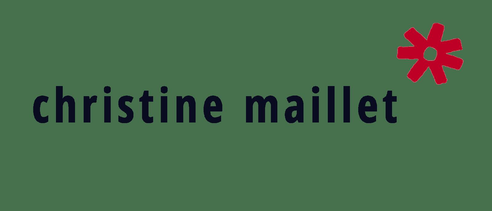 Christine Maillet - Dans l'atelier