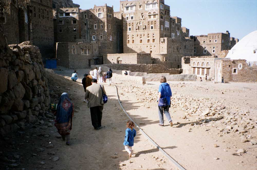 touristes - Yémen